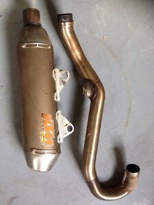FMF pipe for 350 (KTM, Husky, Berg)