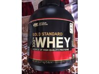 Gold standard whey sealed new