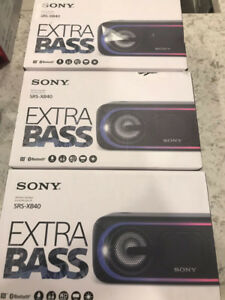 SONY SRS-XB40 BLUETOOTH SPEAKER BIG