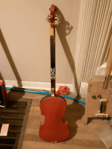3 string bass and diddly bow combo