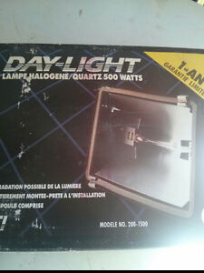 Halogen Flood Light and a Motion Sensor Light  in Camrose Strathcona County Edmonton Area image 2