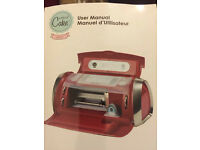CRICUT CAKE mini New. Unused. Not in correct box Cricut Cake Personal Electronic Cutter