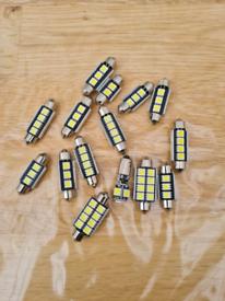 Car led bulbs lot