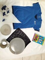 Girl Guide T-Shirt, Book, Scarf + Dishes