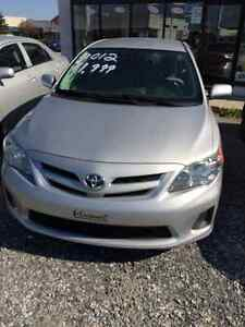2012 Toyota Corolla Sedan at a good price