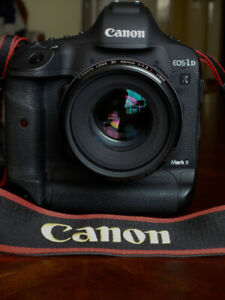 Canon 1DX MkII and Canon lens EF 50 1.2 L for sale