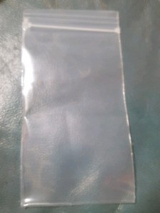 """Bags reclosable clear 3""""x5"""" 4mil thick"""