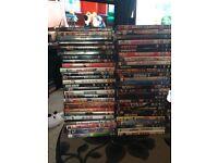 About 500 DVDs job lot swap/px