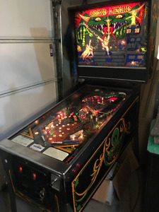 GRAND LIZARD PINBALL MACHINE WILLIAMS ARCADE GAME MAN CAVE 80S