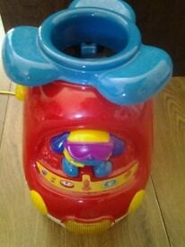 Vtech Learn and Sort Helicopter with coloured balls