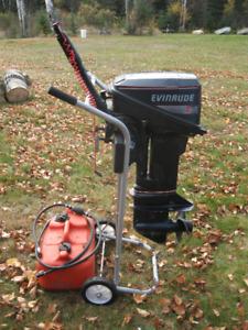 1990 Evinrude 15hp Outboard Motor