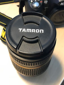 Tamron 18-270mm 3.5-6.3 DI VC II lens for Nikon