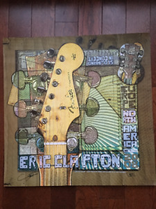 Eric Clapton -2008 Limited Edition Lithograph No.741/1000