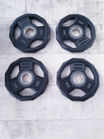 NEW!!! Taurus 50mm Olimpic weights plates'