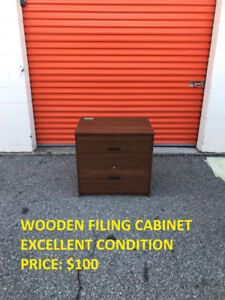 TU>>Wooden Filing Cabinet, Excellent Condition, Cheap Price!