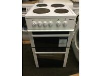 Beko 50cm electric cooker with a three months warranty