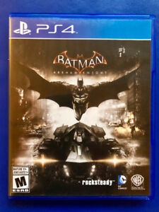 Batman Arkham Knight PS4 - Excellent Condition, Complete