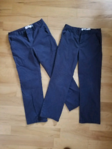 Boys Navy Dress Pants Size 10
