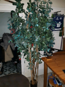 Gorgeous large very full faux tree