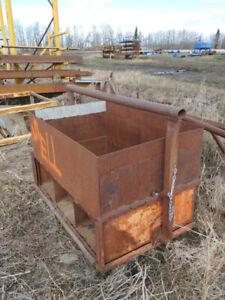 Scrap Metal Bin, Dumping