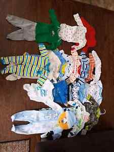 Boys 0-3 months 26 piece clothing lot