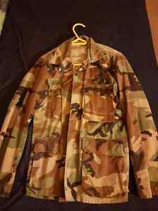 Vintage camo shirt and tactical vest