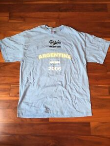 2006 FIFA World Cup Carlsberg Argentina Collector T-Shirt.