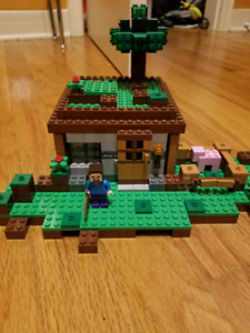 Lego minecraft house