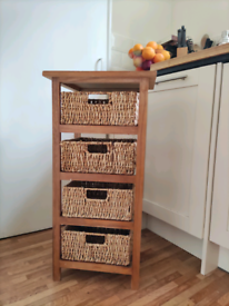 Storage Unit, Wooden Chest of Drawers, Cabinet Rack (SOLD)