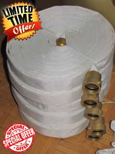 100% Nylon Foldable Fire or Water Hoses For $ale!