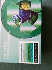 Printer cartridge, colour cyan, for a Lexmark c522, 524, 53X