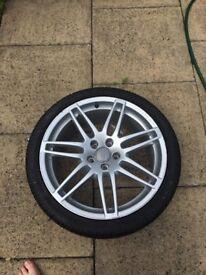 "Genuine audi 19"" alloys wheel A6 Le mans TT TTRS"