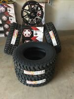 Dodge Ram/Jeep JK Mud Tire and Rim Package.