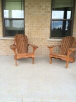 Two Muskoka Chairs