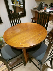 Dalton Oak Counter - high table top