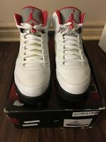 Jordan 5 fire red CDP size 10