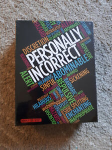 Personally Incorrect board game - sealed, brand new