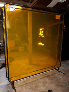 Welding screens and frames