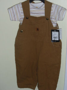 Size 12 month Carhartt  two piece outfit
