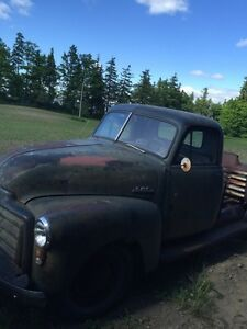 Chevy GMC 3100 patina rat rod 1950