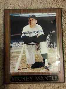 Mickey Mantle Autographed 8x10