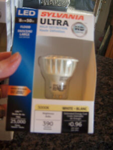 Sylvania Ultra High Definition HD Flood light bulbs