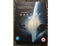 Gravity 3D blu ray steelbook includes 2D version