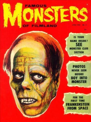 Famous Monsters of Filmland #3 Photocopy REPLICA Magazine
