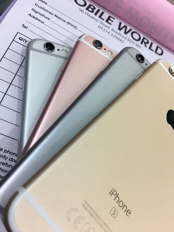 Iphone 6S 16GB mint condition. All colours availablein Bradford, West YorkshireGumtree - Iphone 6S 16GB mint condition. All colours available On any one network Buy from Mobile World BD9 4RJ
