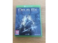 Xbox One - Deus Ex Mankind Divided