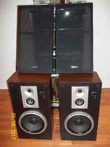Technics SB-L51 3 way 8 ohm speakers