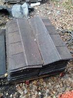 100sq/ft of CHATUE shingles good shape 40.00obo