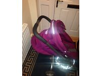 STOKKE PUSHCHAIR WITH CAR SEAT!