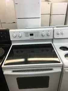 Samsung smooth top oven ceramic glass stove convection--LIKE NEW